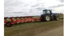 Испытание трактора New Holland T8.410 в Ульяновске